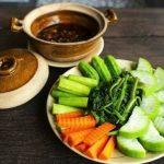 Cách làm món chay kho quẹt chấm rau củ