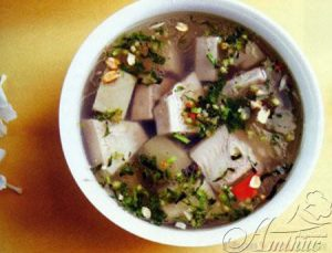 canh mit mon an chay ngon