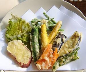 tempura – cu qua chien gion