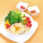 Món chay :Canh chua cá lóc nấu lá giang
