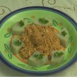 Món chay: Ragu hạt dưa Egusi kiểu Cameroon .