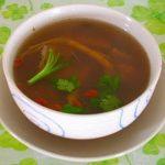 Món chay : Soup Thảo dược …