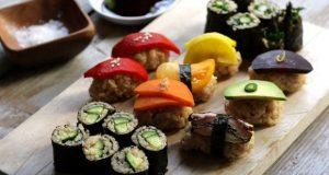 Sushi gạo lứt cho người ăn chay