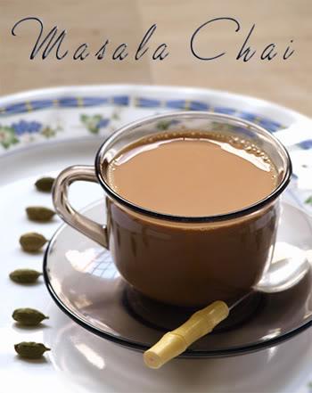 thuc uong thuc duong tra masala chai Ấn Độ
