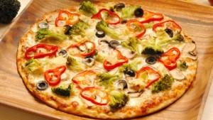 pizza chay kieu y