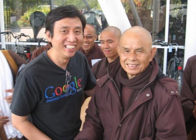 chade meng tan nguoi sang lap chuong trinh du hoc tim trong chinh minh tai google ben thien su nhat hanh