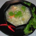 Soup Măng Tây Cua Biển Chay