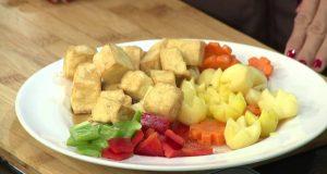 Món chay 108 – Đậu hũ hầm dừa