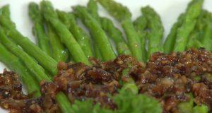Món chay 124 – Măng tay sauce nấm