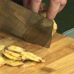 Món chay 132 – Bắp chuối kho riềng